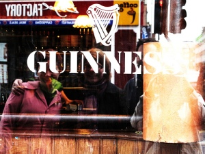 guinness group photo reflection
